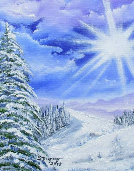 Painting - Winter Bright  by Sharon Duguay