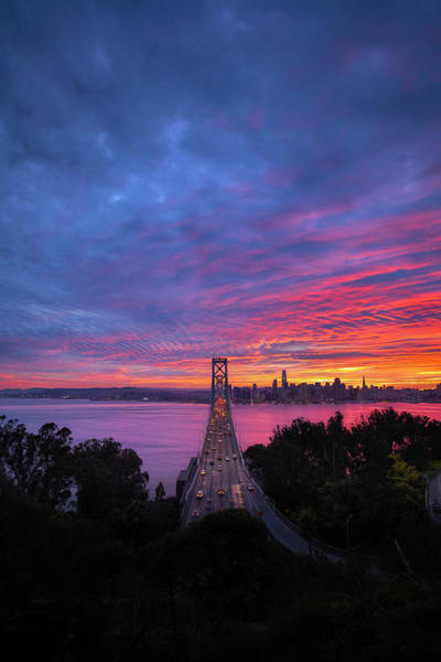 Wall Art - Photograph - Winter Burn Over San Francisco by Vincent James