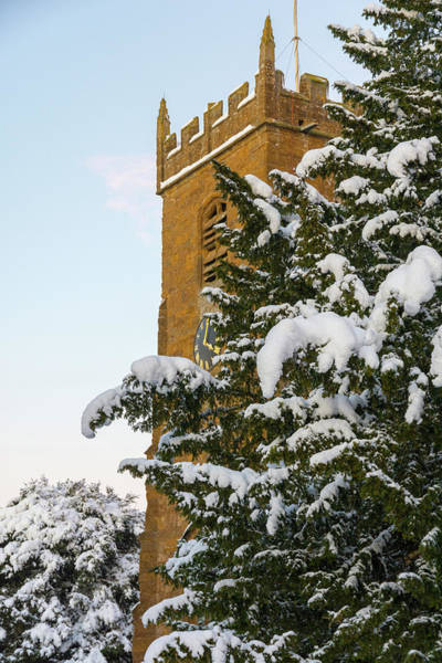 Photograph - Winter Church by Mark Hunter