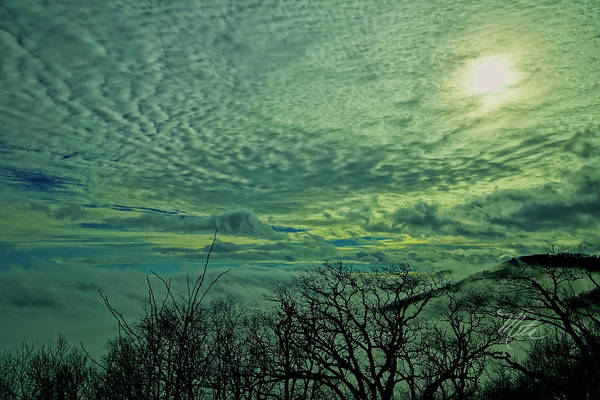Photograph - Winter Clouds by Meta Gatschenberger