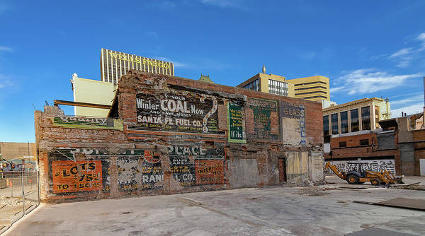 Downtown El Paso Photograph - Winter Coal by Ken Blystone