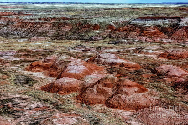 Photograph - Winter Colors Of The Painted Desert by Jon Burch Photography