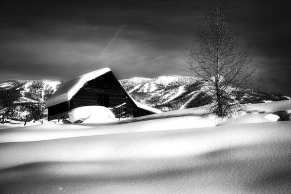 Wall Art - Photograph - Winter Darkness by Mountain Dreams