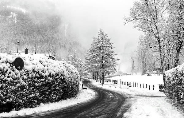 Photograph - Winter Day In The Bavarian Alps Berchtesgaden by John Rizzuto