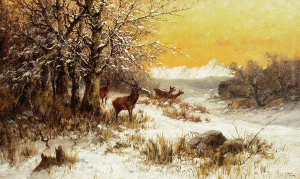 Painting - Winter Day by John Fery