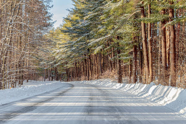 Photograph - Winter Drive by Rod Best