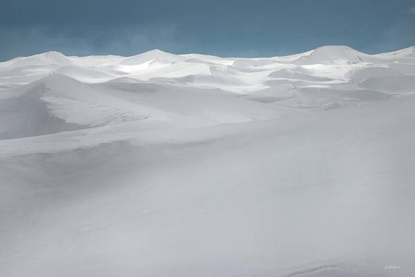 Photograph - Winter Dunes by Leland D Howard