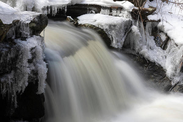 Photograph - Winter Falls by Brian Hale