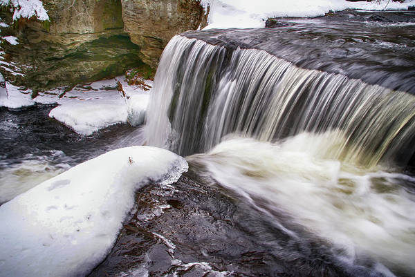 Photograph - Winter Falls by Cate Franklyn