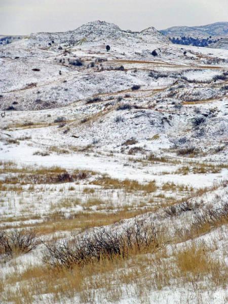 Photograph - Winter Hills In Dakota West by Cris Fulton
