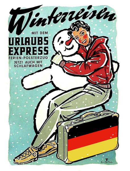 Wall Art - Digital Art - Winter Holidays In Germany by Long Shot
