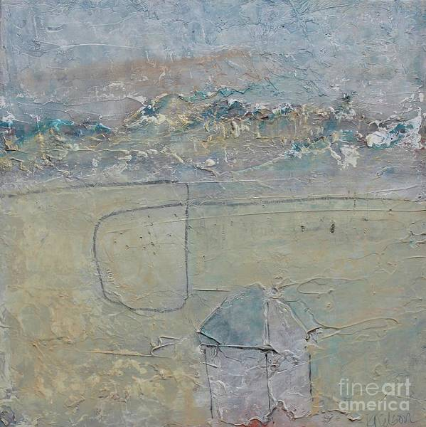 Painting - Winter Homestead In Rugged Terrain by Kim Nelson
