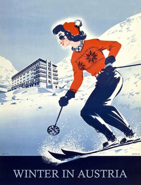 Wall Art - Digital Art - Winter In Austria by Long Shot