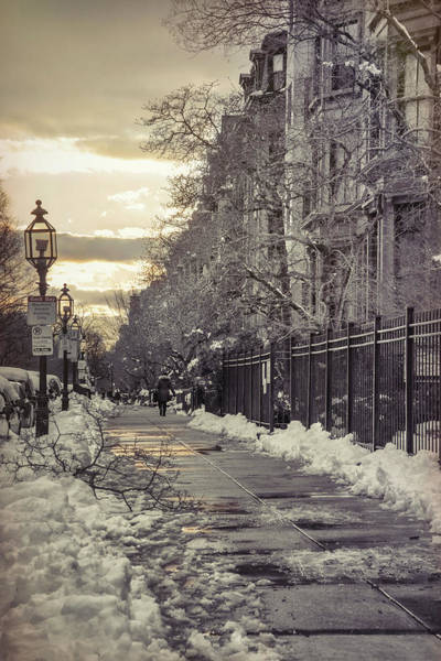 Photograph - Winter In Back Bay Boston by Joann Vitali