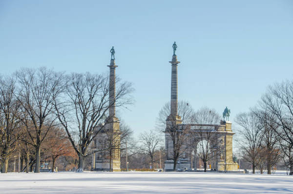 Photograph - Winter In Fairmount Park - Philadelphia by Bill Cannon
