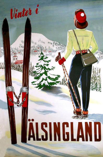 Wall Art - Digital Art - Winter In Halsingland by Long Shot