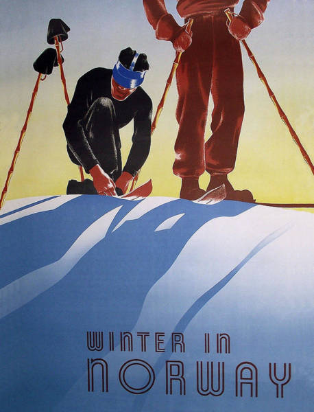 Wall Art - Digital Art - Winter In Norway by Long Shot