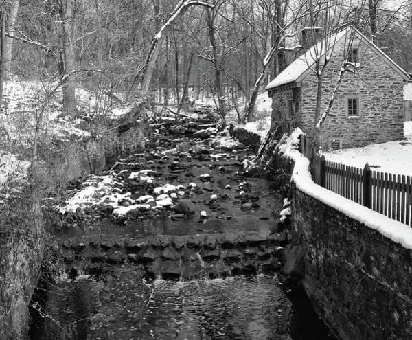 Photograph - Winter In Rittenhouse Town by Bill Cannon