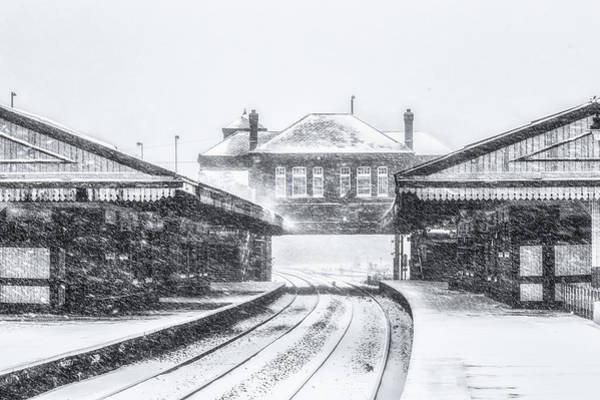 Railway Station Photograph - Winter In Tyseley No 3 by Chris Fletcher