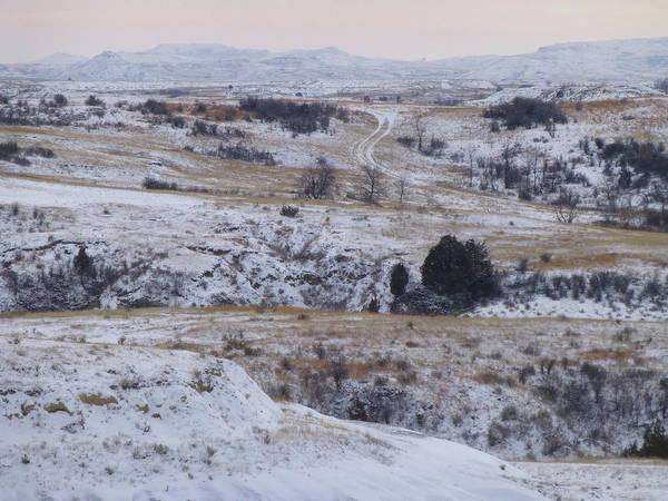 Photograph - Winter In West Dakota by Cris Fulton