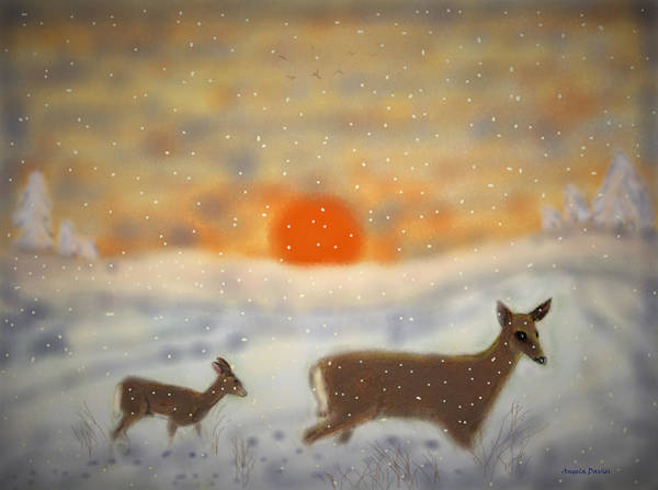Painting - Winter Journey by Angela Davies