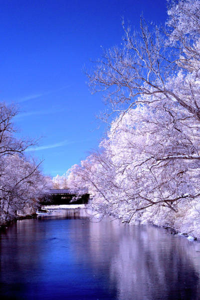 Wall Art - Photograph - Winter Like River Scene  by Paul W Faust - Impressions of Light