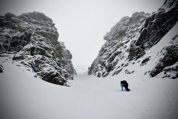 Threat Photograph - Winter Mountaineering by Mgts