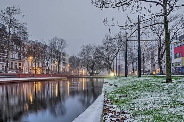 Photograph - Winter On A Sunday Morning by Frans Blok