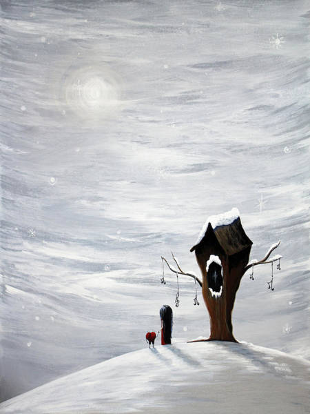 Wall Art - Painting - Winter Painting by Erback Art