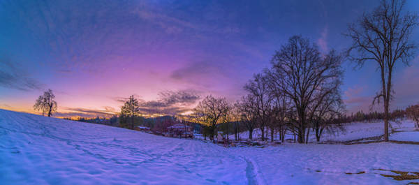 Photograph - Winter Panorama by Jonathan Hansen