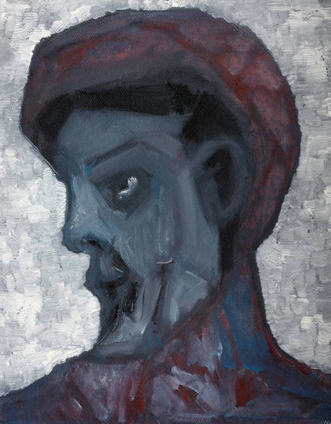 Painting - Winter Portrait by Artist Dot