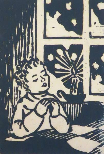 Olden Mixed Media - Winter Prayer by Janice Petrella-Walsh