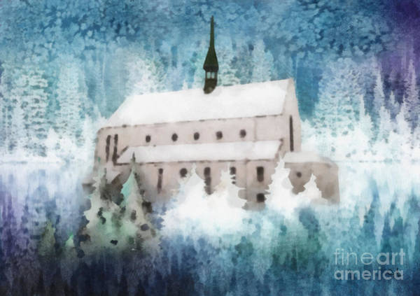 Wall Art - Painting - Winter Rhapsody by Mo T
