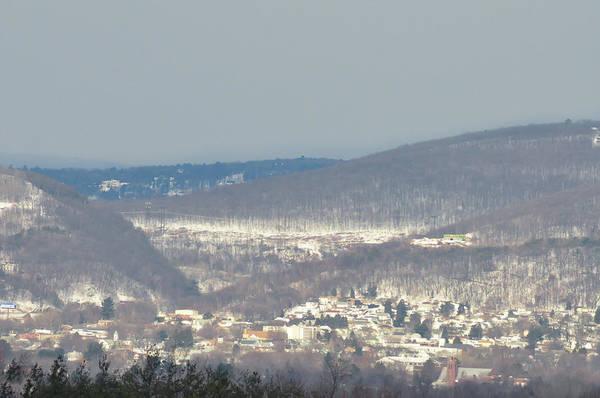 Photograph - Winter Scene - Pocono Mountains by Bill Cannon