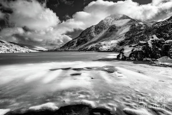 Photograph - Winter Scenery Snowdonia by Adrian Evans