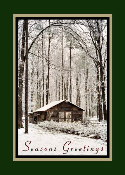 Photograph - Winter Seasons Greetings by Kathy K McClellan