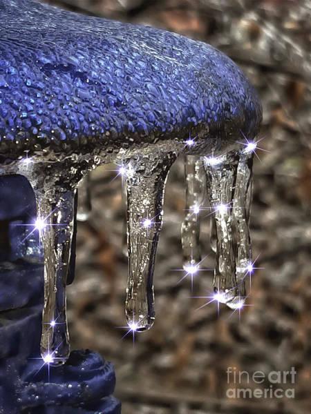 Mixed Media - Winter Sparkle by Jolanta Anna Karolska