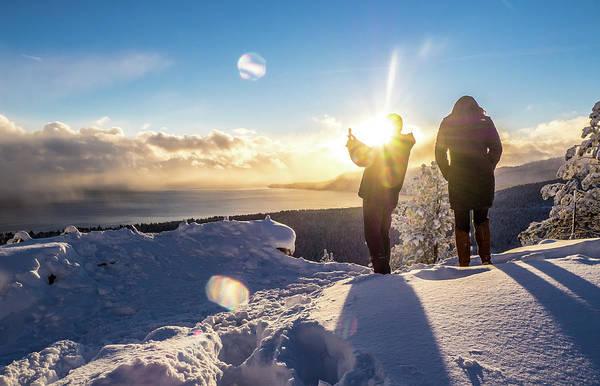 Photograph - Winter Sun by Martin Gollery
