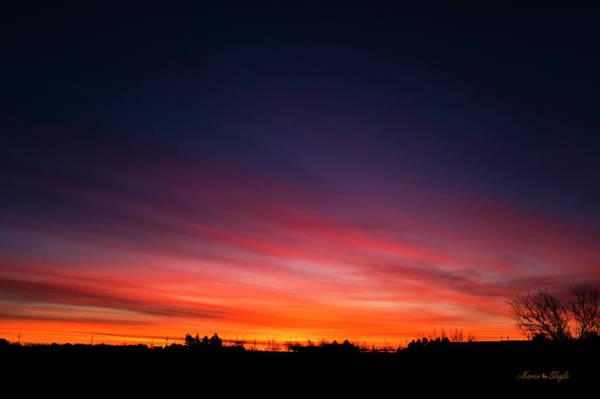 Photograph - Winter Sunrise 1 by Karen Slagle