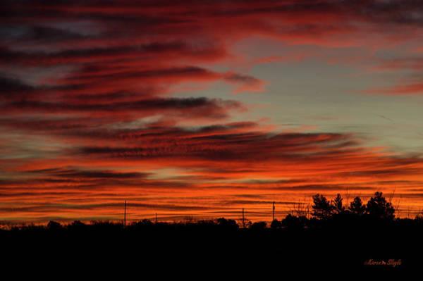 Photograph - Winter Sunrise 2 by Karen Slagle