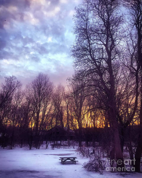 Wall Art - Photograph - Winter Sunrise by HD Connelly