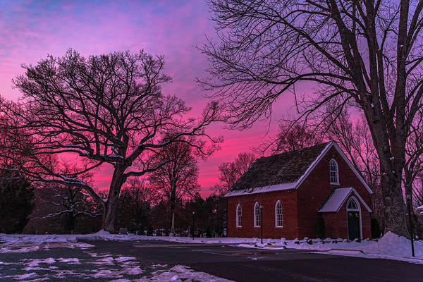 Photograph - Winter Sunrise by Lori Coleman