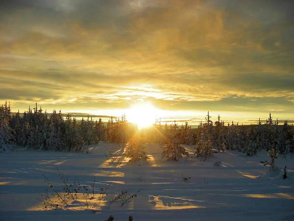 Okanagan Photograph - Winter Sunrise by Rontech2000