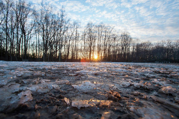Photograph - Winter Sunset by Mark Duehmig