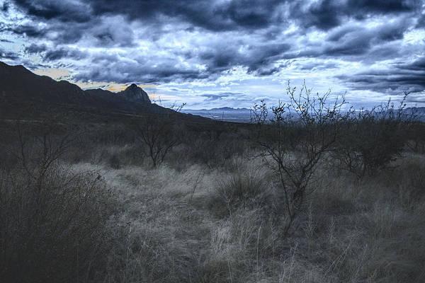 Photograph - Winter Twilight Moods, Southern Arizona by Chance Kafka