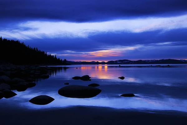 Photograph - Winter Twilight Serenity  by Sean Sarsfield