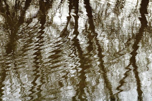 Winter Water Reflection - 5059-19 Art Print