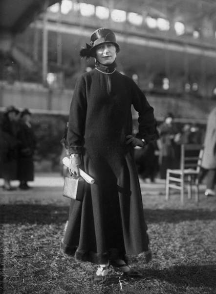 1923 Photograph - Winter Wear by Seeberger Freres