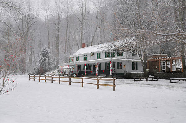 Wall Art - Photograph - Winter Wonderland At Valley Green by Bill Cannon