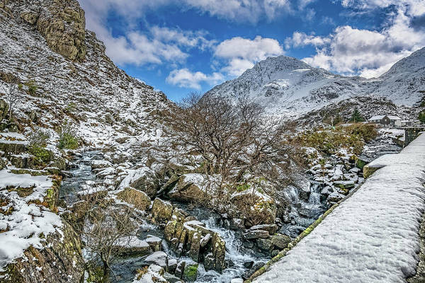 Photograph - Winter Wonderland Snowdonia by Adrian Evans